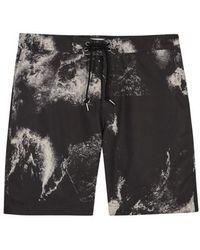 John Elliott - Solar Printed Swim Shorts - Size S - Lyst