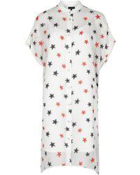 Rag & Bone - Lary Star-fil Coupé Chiffon Dress - Lyst