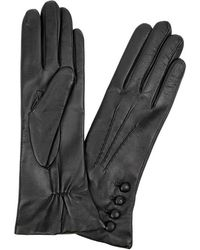 Dents - Evelyn Cashmere-lined Leather Gloves - Lyst