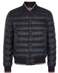 Moncler - Aubrey Navy Quilted Shell Jacket - Lyst