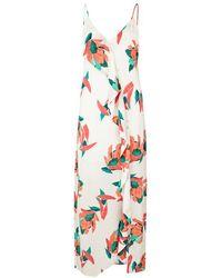 ViX - Nicole Printed Voile Maxi Dress - Lyst