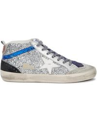 Golden Goose Deluxe Brand - Mid Star Trainers - Lyst