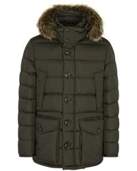 Moncler - Cluny Fur-trimmed Shell Jacket - Lyst