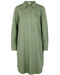 Eileen Fisher - Sage Organic Cotton Shirt Dress - Lyst
