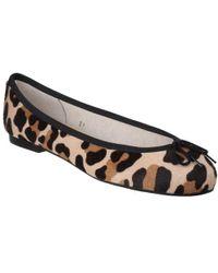 French Sole - Henrietta Calf Hair Leopard - Lyst