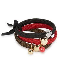 Marc Jacobs - Double J Ball Hair Bands - Lyst