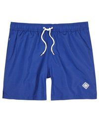 J.Lindeberg - Banks Blue Swim Shorts - Lyst