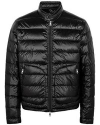 Moncler - Acorus Black Quilted Shell Jacket - Lyst