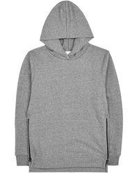 John Elliott - Hooded Villain Zipped Cotton Sweatshirt - Size M - Lyst