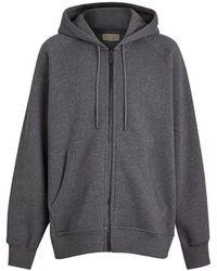 Burberry - Logo Hooded Jacket - Lyst