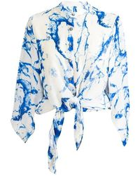 Octavia Hix - Eden Shirt Glacier Blue - Lyst