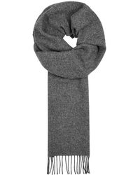 Norse Projects - X Johnstons Grey Wool Scarf - Lyst
