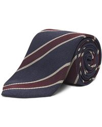Chester Barrie - Bold Bordered Stripe Tie - Lyst