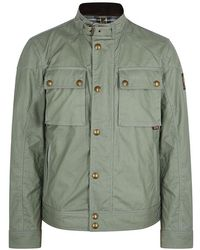 Belstaff - Racemaster Coated Cotton Jacket - Lyst