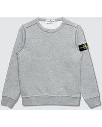 Stone Island - Basic Creneck Sweater (infant) - Lyst