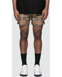 Burberry - Vintage Swim Shorts - Lyst