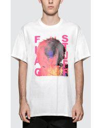 "Flagstuff - ""mix Up"" T-shirt - Lyst"