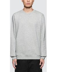 Norse Projects - Vagn Classic Logo Patch Sweatshirt - Lyst