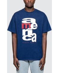 Perry Ellis - America Scramble T-shirt - Lyst