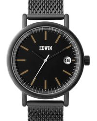 Edwin - Black With Black Dial Epic - Lyst