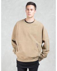Dominans Stravan - Oversize Crewneck Sweatshirt - Lyst