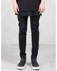 Lad Musician - Stretch Gabardine Skinny Trousers - Lyst