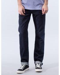 Maison Kitsuné - Japanese Slim Cut Denim Jeans - Lyst