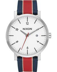 Nixon - Rollo With White Dial - Lyst