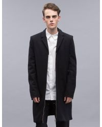 Hood By Air - Wool Updated Moma Patch Coat - Lyst