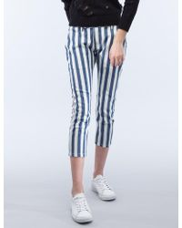 Timberland - Sullie Stripe Trousers - Lyst