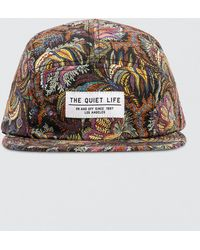 dd5a3f2bc7 The Quiet Life - Liberty Paisley Coral 5 Panel Hat - Lyst