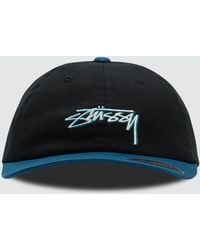 Stussy - Fitted Low Cap - Lyst