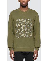 Loewe - Flower Anagram Sweatshirt - Lyst