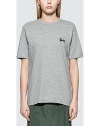 Stussy - Basic S/s T-shirt - Lyst