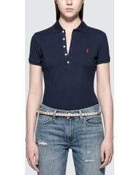 Polo Ralph Lauren - Julie Short Sleeve Polo - Lyst