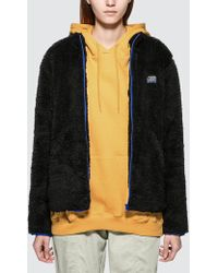 Stussy - Cruzer Sherpa Jacket - Lyst
