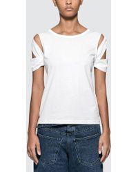 Helmut Lang - Bondage Short Sleeve T-shirt - Lyst