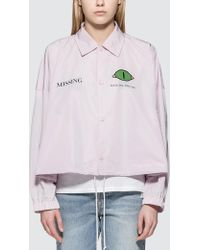 """Undercover - """"missing"""" Coach Jacket - Lyst"""