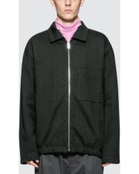Lemaire - Jersey Jackets - Lyst