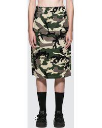 Stussy - Lenny Bag Skirt - Lyst