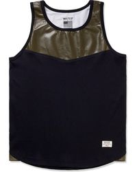 Mister | Army Perforated Hide Tank Top | Lyst