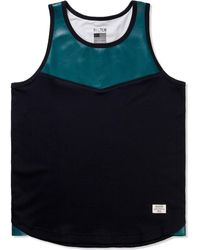 Mister | Turquoise Hide Tank Top | Lyst