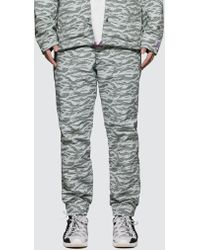 5c07ceb82787a Paul Smith Slim-Fit Navy  Pixelated Camo  Wool Trousers in Green for ...