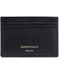 Common Projects | Multi Cardholder In Grain Leather | Lyst