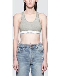 Calvin Klein - Cotton Brassiere - Lyst