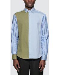 JW Anderson - Paneled Classic Shirt - Lyst