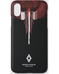 Marcelo Burlon - Wings Barcode X Case - Lyst