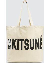 Maison Kitsuné - Nba Tote Bag - Lyst