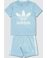 adidas Originals - Unisex Short T-shirt Set - Lyst