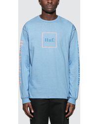 Huf - Domestic L/s T-shirt - Lyst